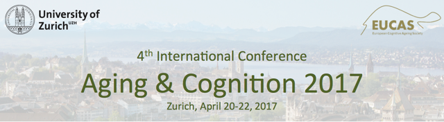 Aging and Cognition / EUCAS Conference 2017